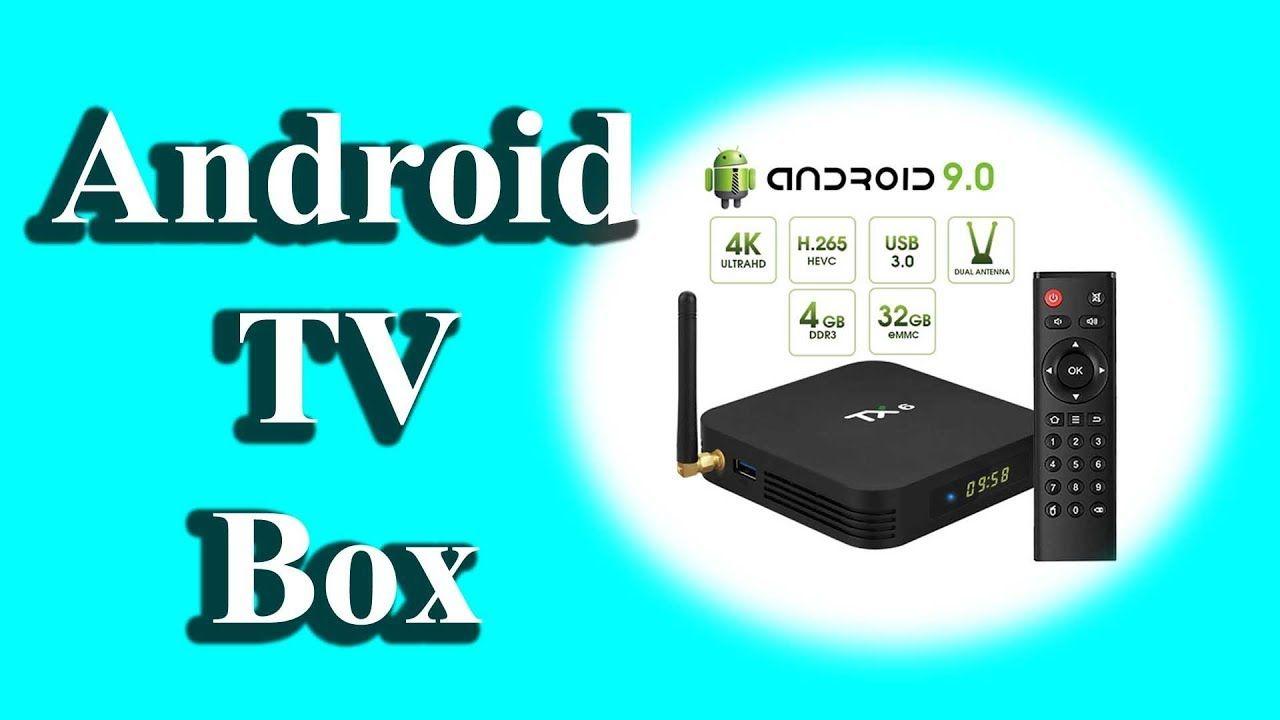 Android TV Box Pendoo TX6 Android 9 0 TV Box 4GB RAM 32GB