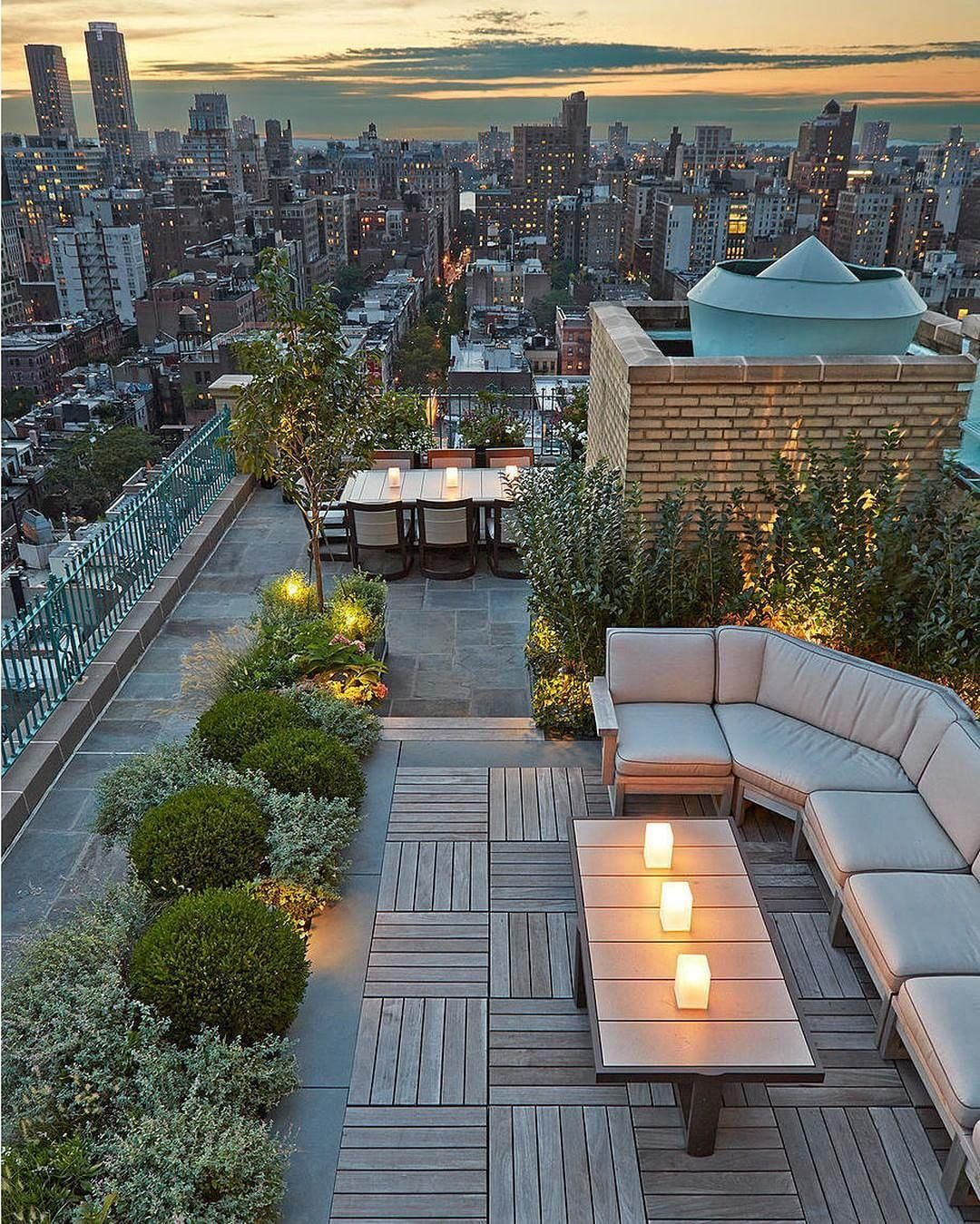 Central Park West Rooftop In Newyork City Tag A Friend To Bring Here Themillionairelife By Hollander Rooftop Design Rooftop Patio Rooftop Garden