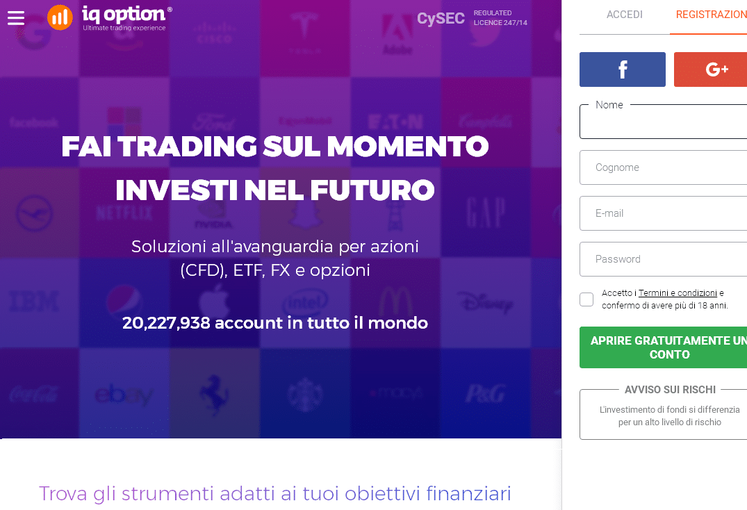 cosa significa fare trading on line