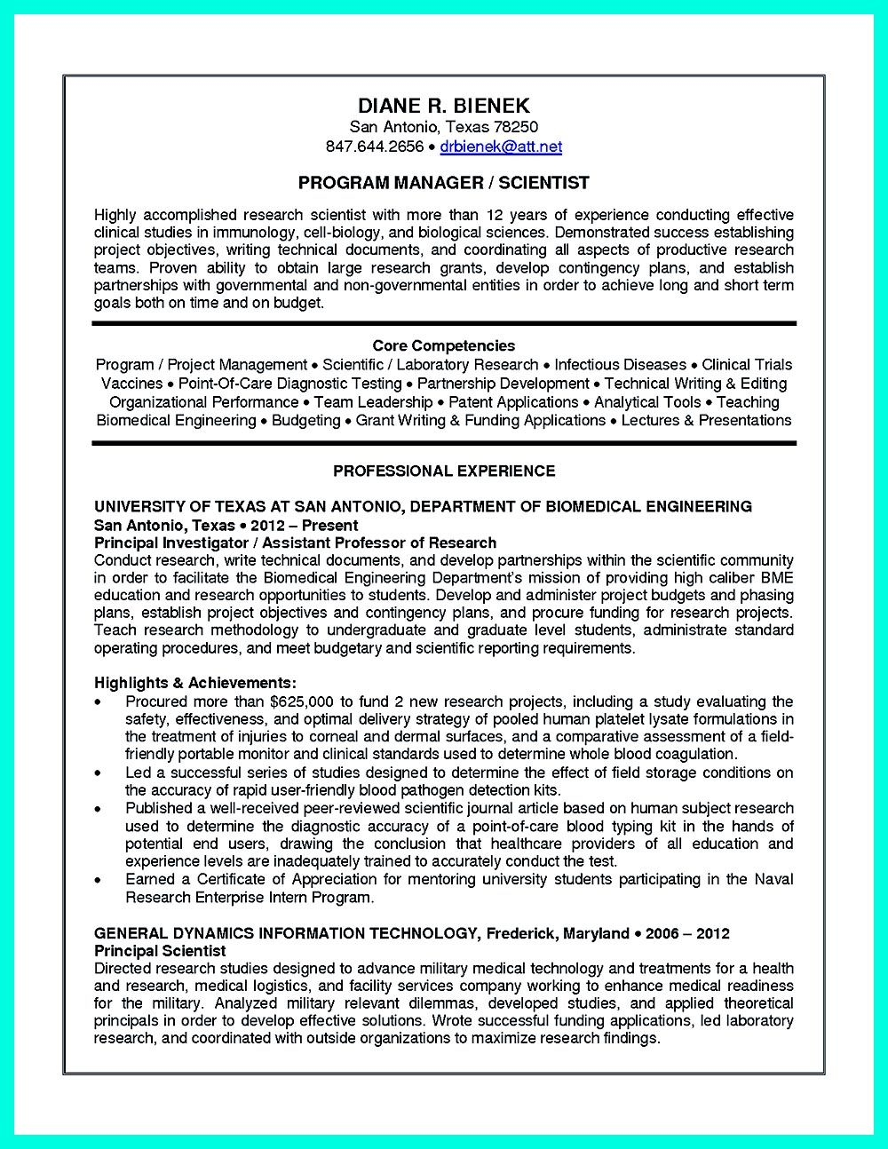 clinical research associate resume objectives are needed to