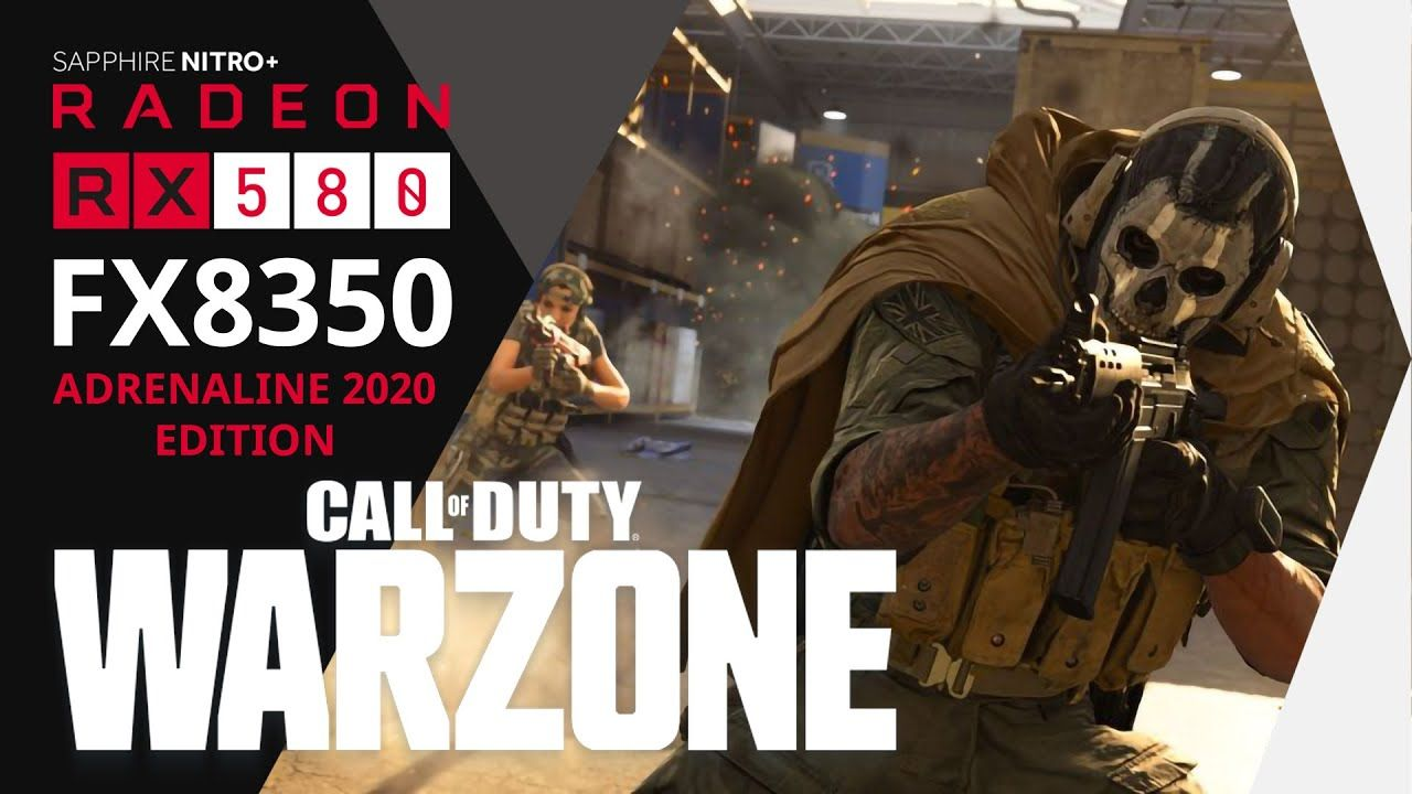 Call Of Duty Warzone Gameplay Max 1080p Fx8350 Rx580 8gb Di 2020