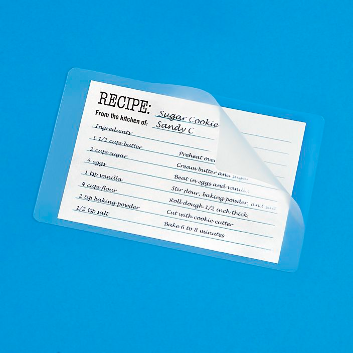 Index Card Laminating Pouches Glossy 5 Mil S 11150 Uline Index Cards Laminated Machine Card Sizes