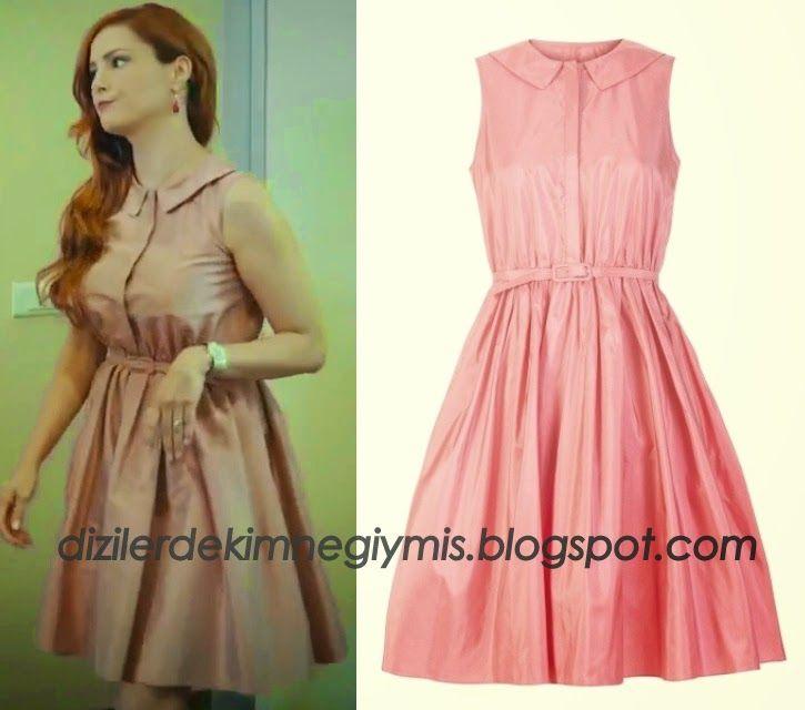 Photo of Medcezir – Ender (Mine Tugay), Machka Pink Dress