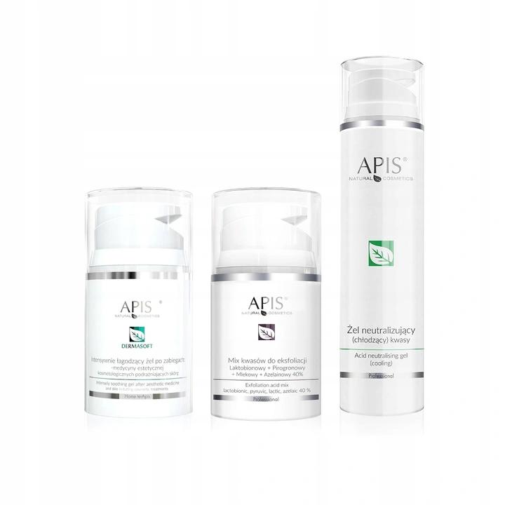 Apis Zestaw Kwas Laktobionowy Neutralizator Zel 9719567398 Allegro Pl Shampoo Bottle Gel Shampoo
