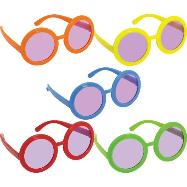 Feeling Groovy Tinted Glasses 10ct