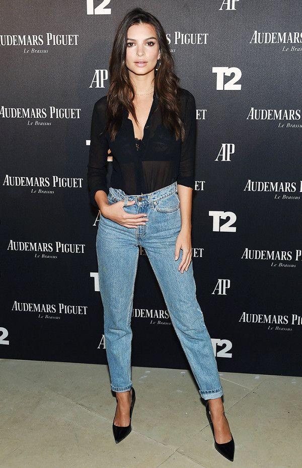 Jean y negro  Outfit u
