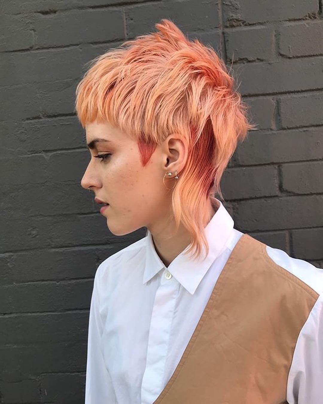 Elevate Hair On Instagram One Of The Top Mullets Of The Year By Charlenefernandezhair Mulletmonday Elevateh Mullet Hairstyle Global Hair Alternative Hair