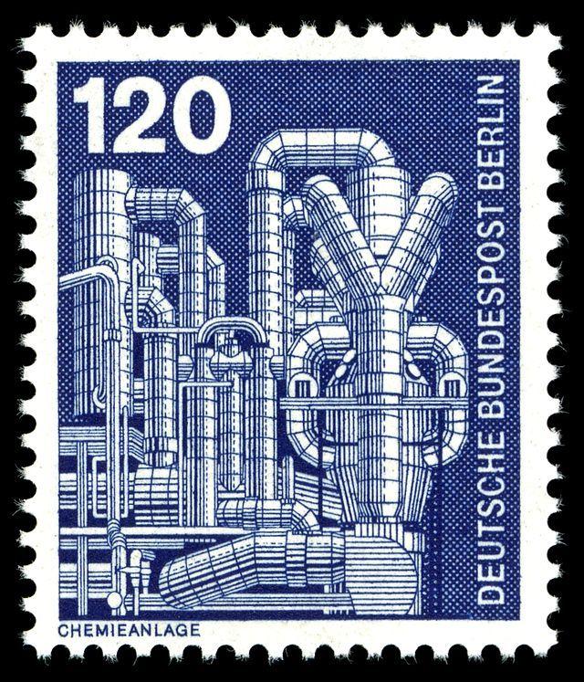 Pin auf Timbre postal