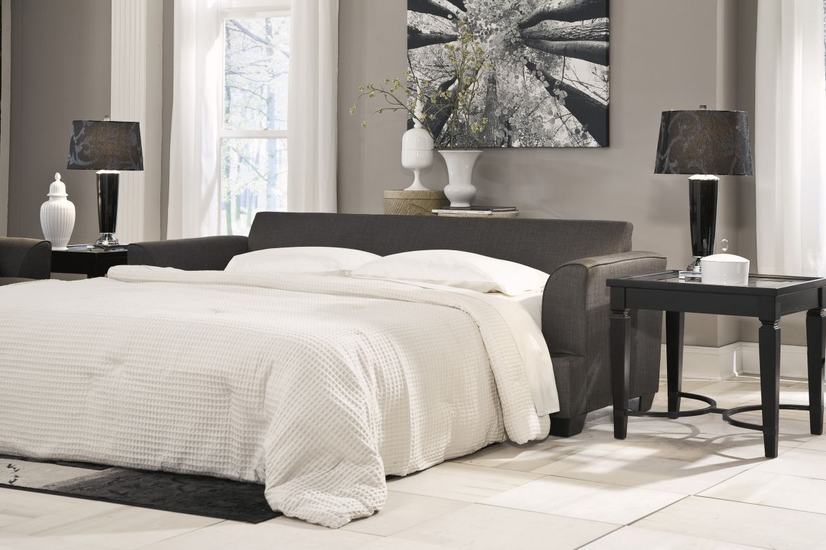 Levon Charcoal Sofa Sleeper