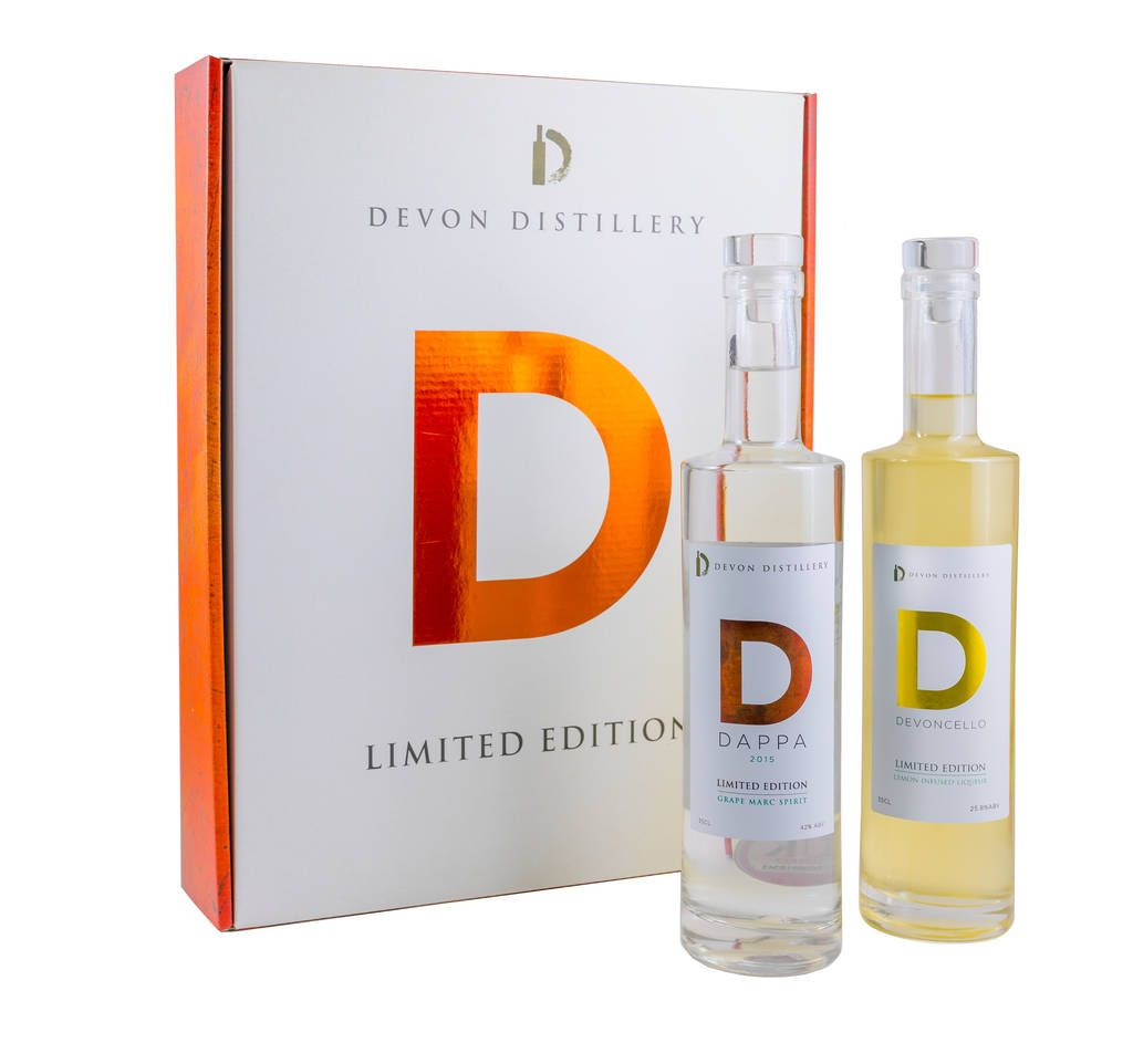 Devoncello And Dappa Presentation Pack Organic Lemons Vodka