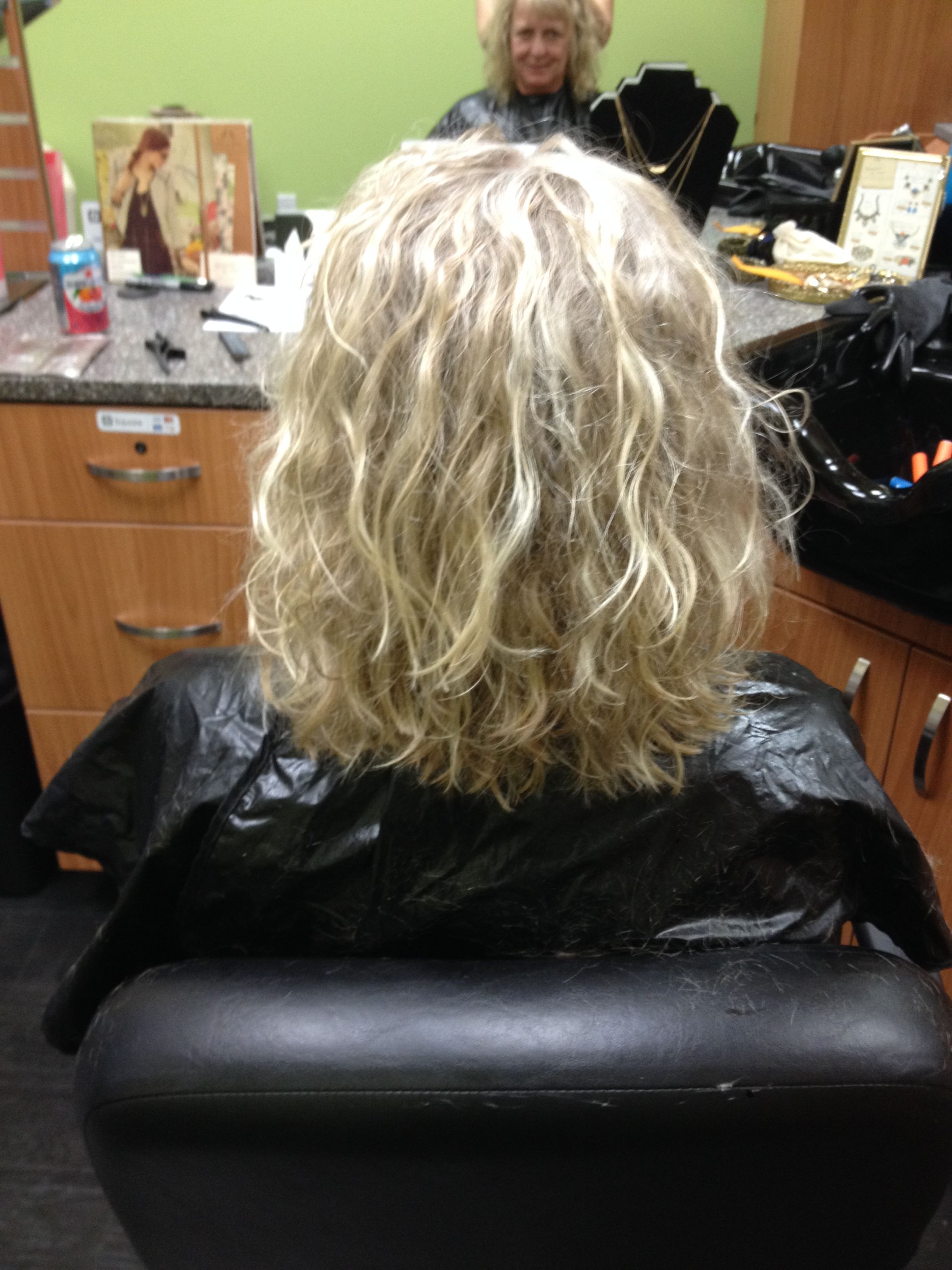Beach waves and body this is not your grandmas perm for C curl perm salon vim