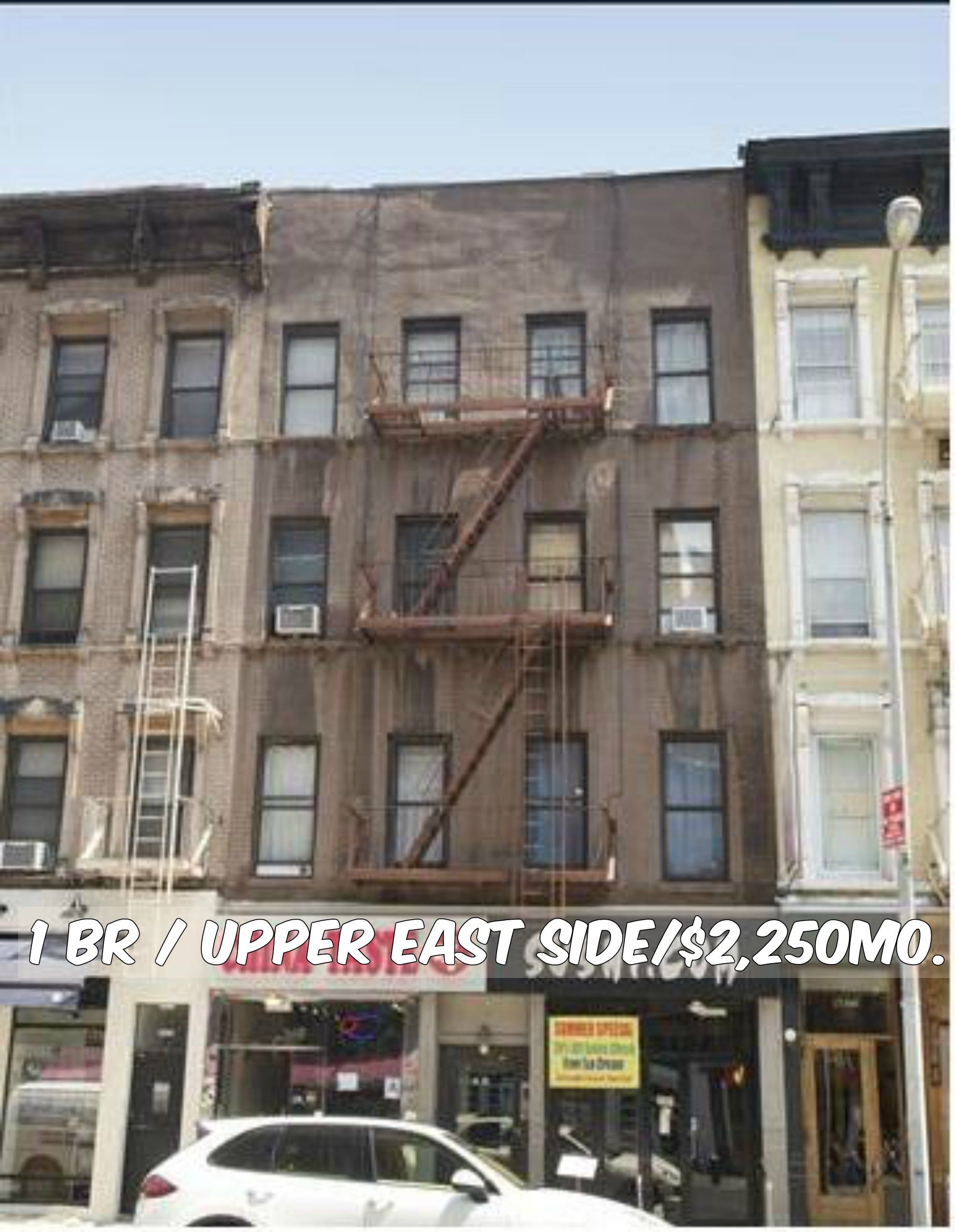 1 Br Apt For Rent In Upper East Side At 2 250 Mo Brownstone