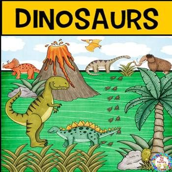 This 86 page science unit is for grades 1-3.  It includes fun facts and activities about the following dinosaurs:Tyrannosaurus.Pterodactyl.Stegosaurus.Diplodocus.Triceratops.Ankylosaurus.Mammoth.The following are the activities included in this unit:Word Wall Cards & Worksheet.Teacher Read Aloud.Student Reader & Worksheet.Student Reader  Less Text.Who Am I?