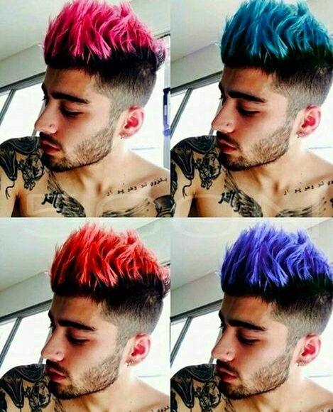 Imagem De Zayn Malik Colors And Hair Boys Colored Hair Red Hair Men Men Hair Color