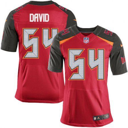 Tampa Bay Buccaneers Lavonte David Men S Home Jersey Red Nfl 54 Elite Jersey Tampa Bay Buccaneers Nike Elite
