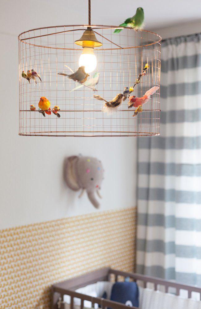 Lampe volière / oiseaux en cage : ou la trouver + DIY | Pinterest ...