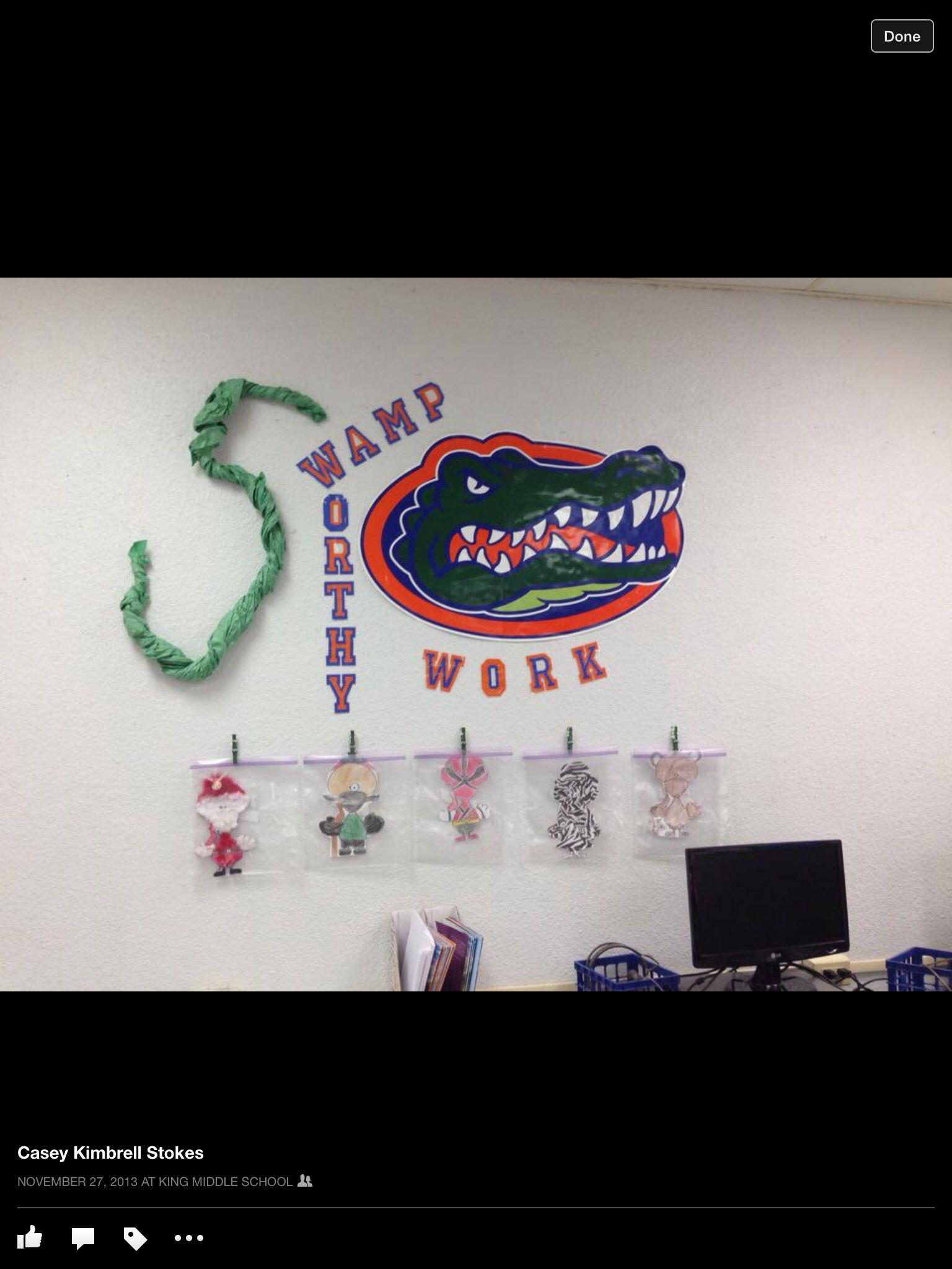 Florida Gator Themed Classroom