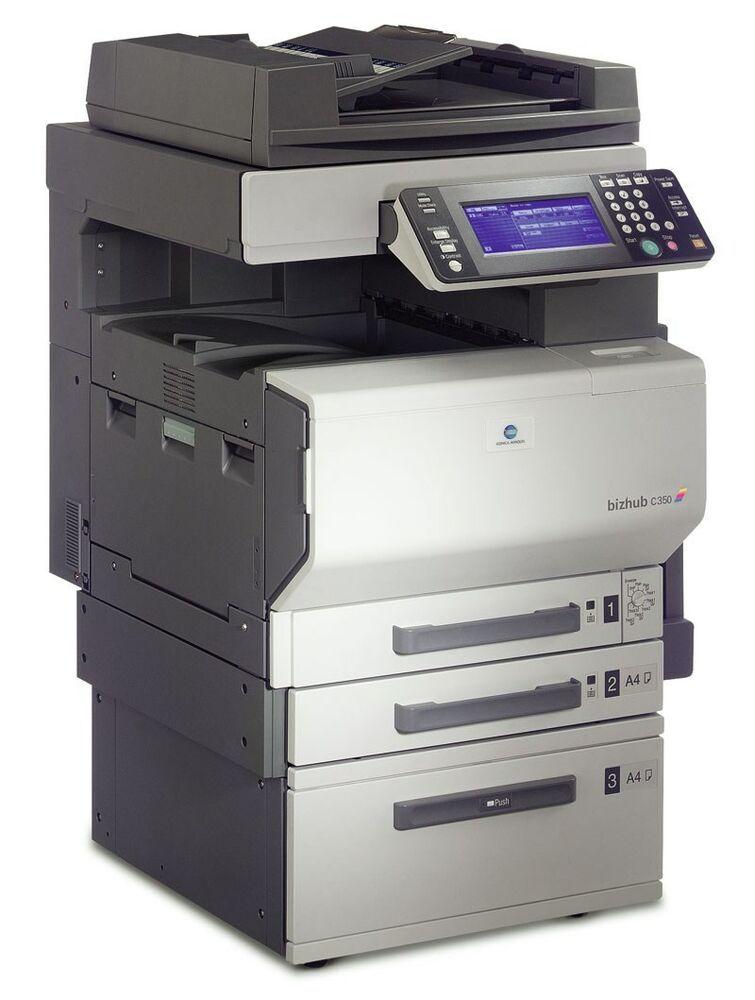 KONICA MINOLTA bizhub C350 Color Printer #KonicaMinolta