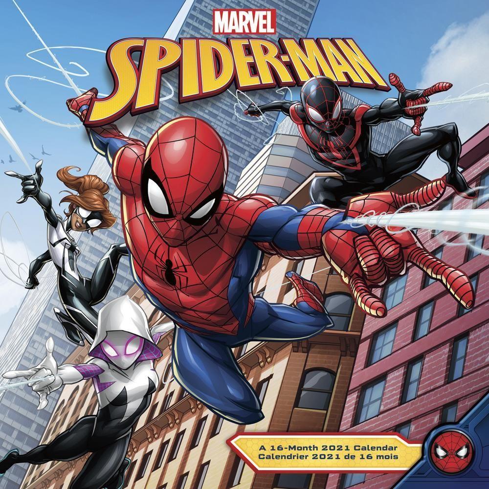 SpiderMan 2021 Wall Calendar in 2020 | Spiderman, Spiderman
