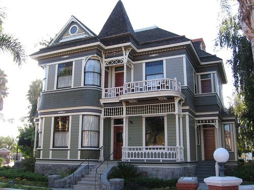 Heritage square in oxnard paint schemes house beautiful and victorian - Heritage paint colours exterior pict ...