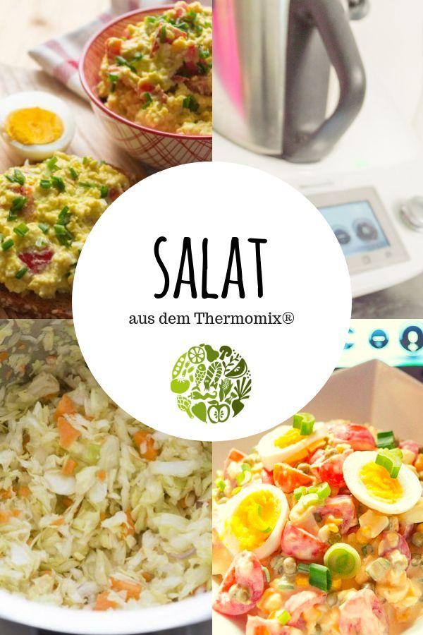 Photo of Salads with the Thermomix® • will-mixen.de