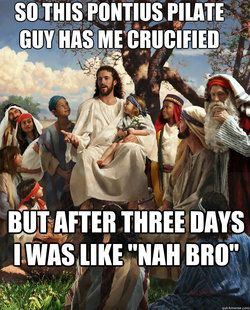 Jesus telling his story now a days!