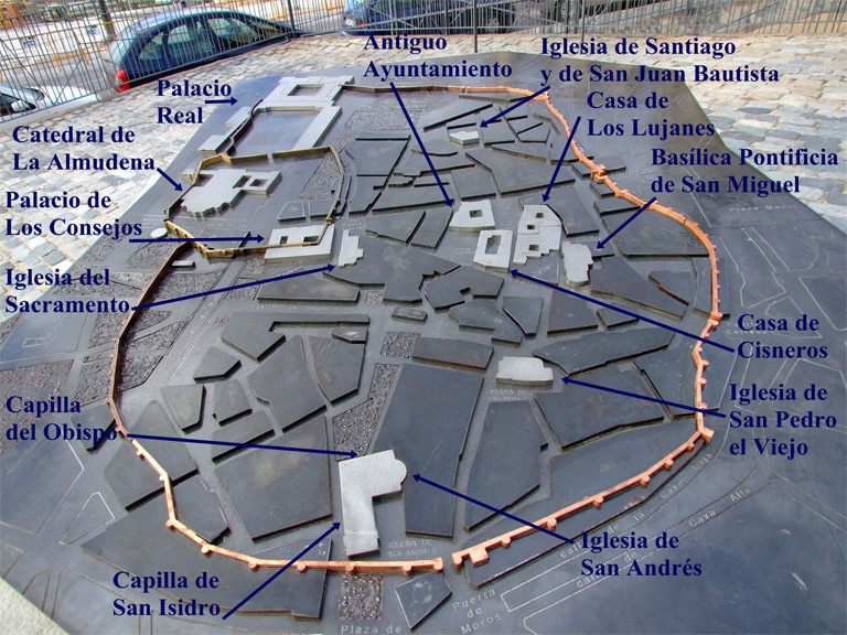 Murallas Cercas Y Puertas De Madrid Historia Y Descripción De Las Murallas árabe Y Cristiana Y De Las Ce Puerta De Madrid Madrid Turismo Iglesia De Santiago
