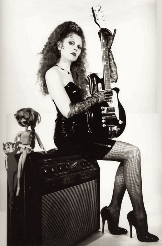 Poison Ivy Rorschach of The Cramps