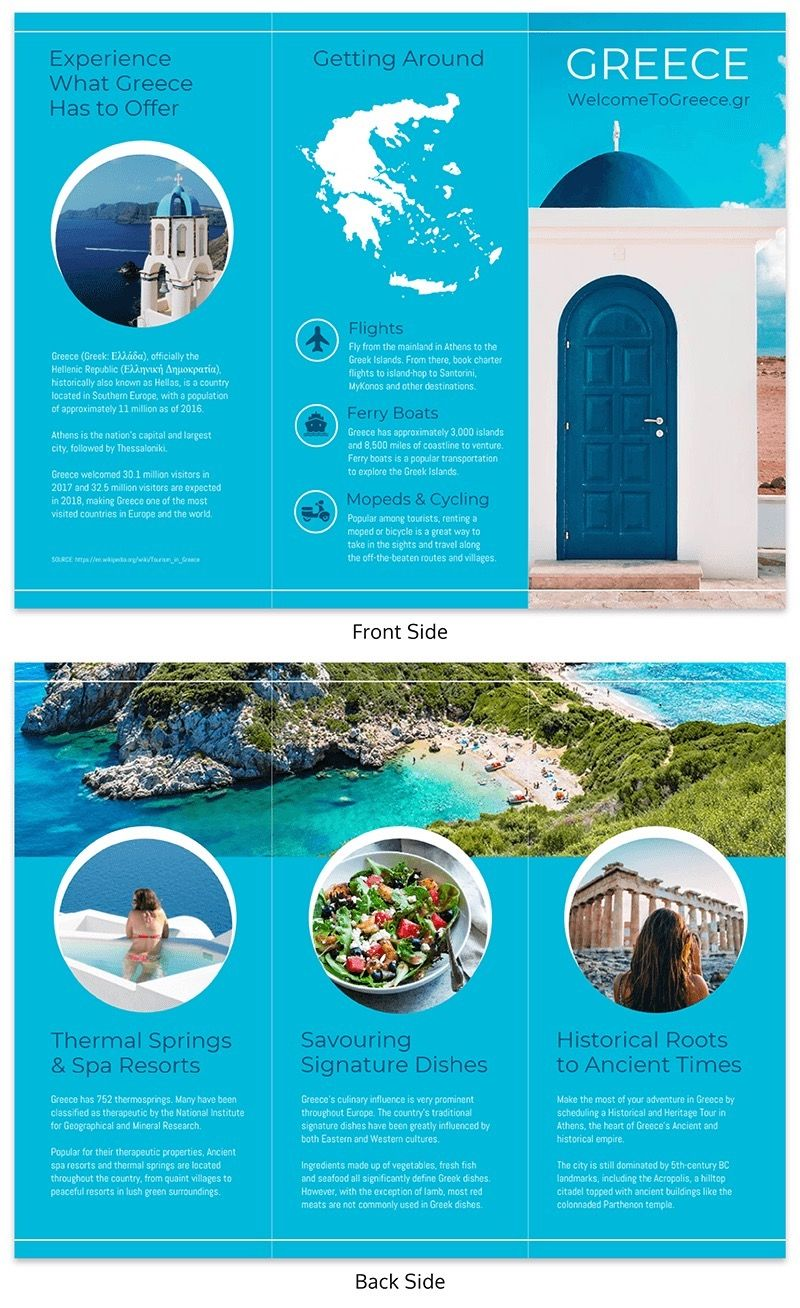20+ Professional Trifold Brochure Templates, Tips & Examples