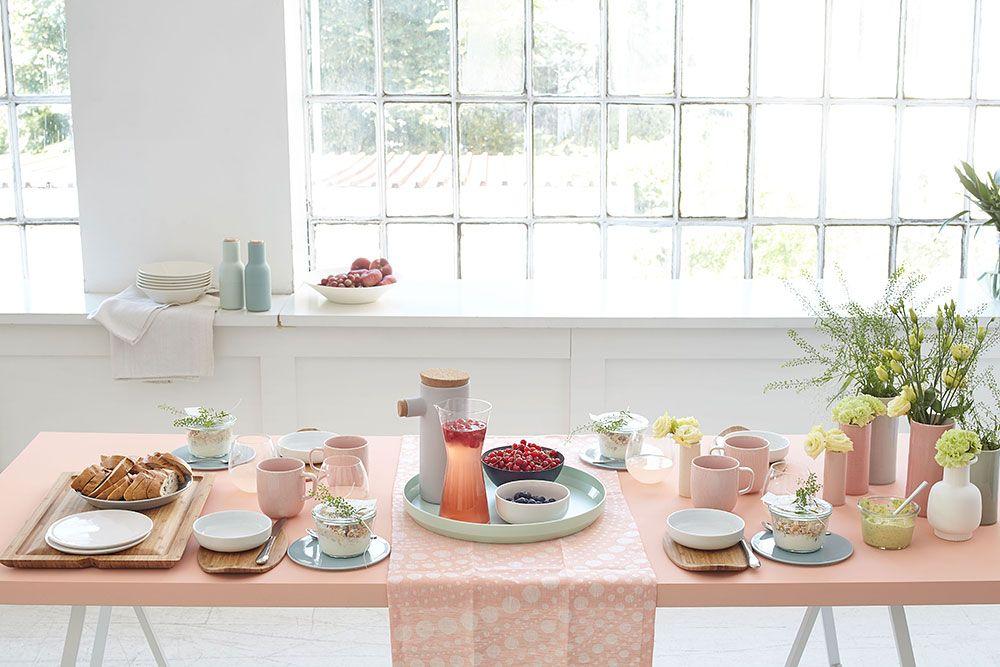 Schoner Tischdecken Beim Schoner Wohnen Workshop Schoner Wohnen Wohnen Und Bettwasche Modern