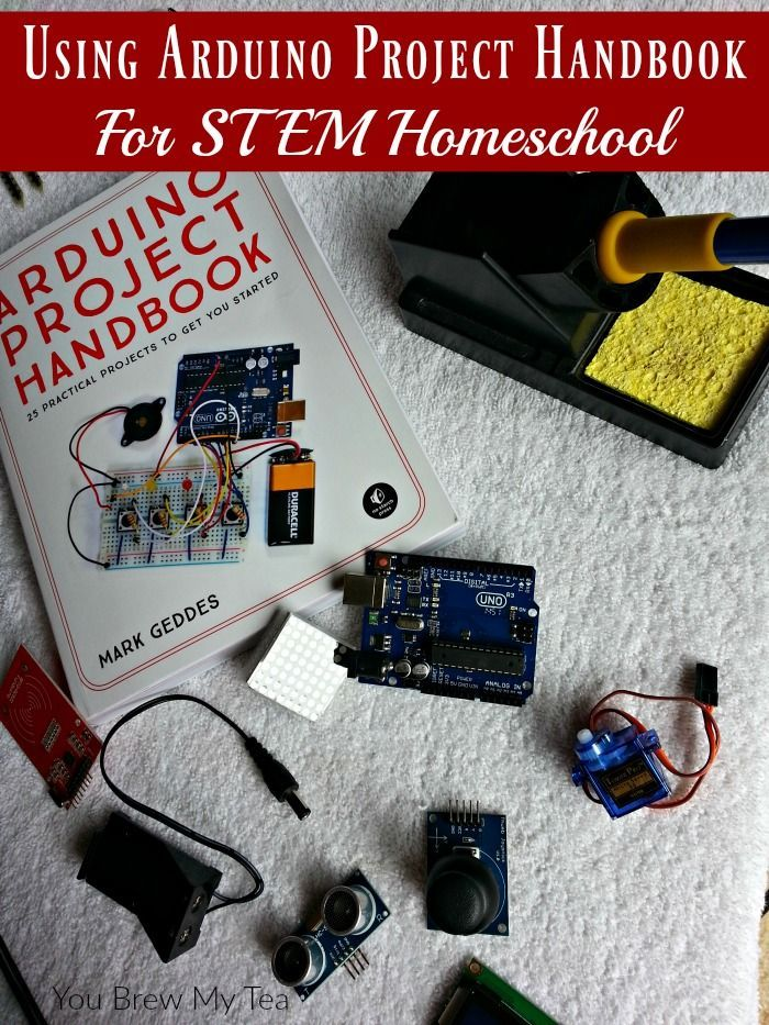 Using Arduino Project Handbook For Stem Homeschool You Brew My Tea Arduino Projects Homeschool Arduino Projects Diy