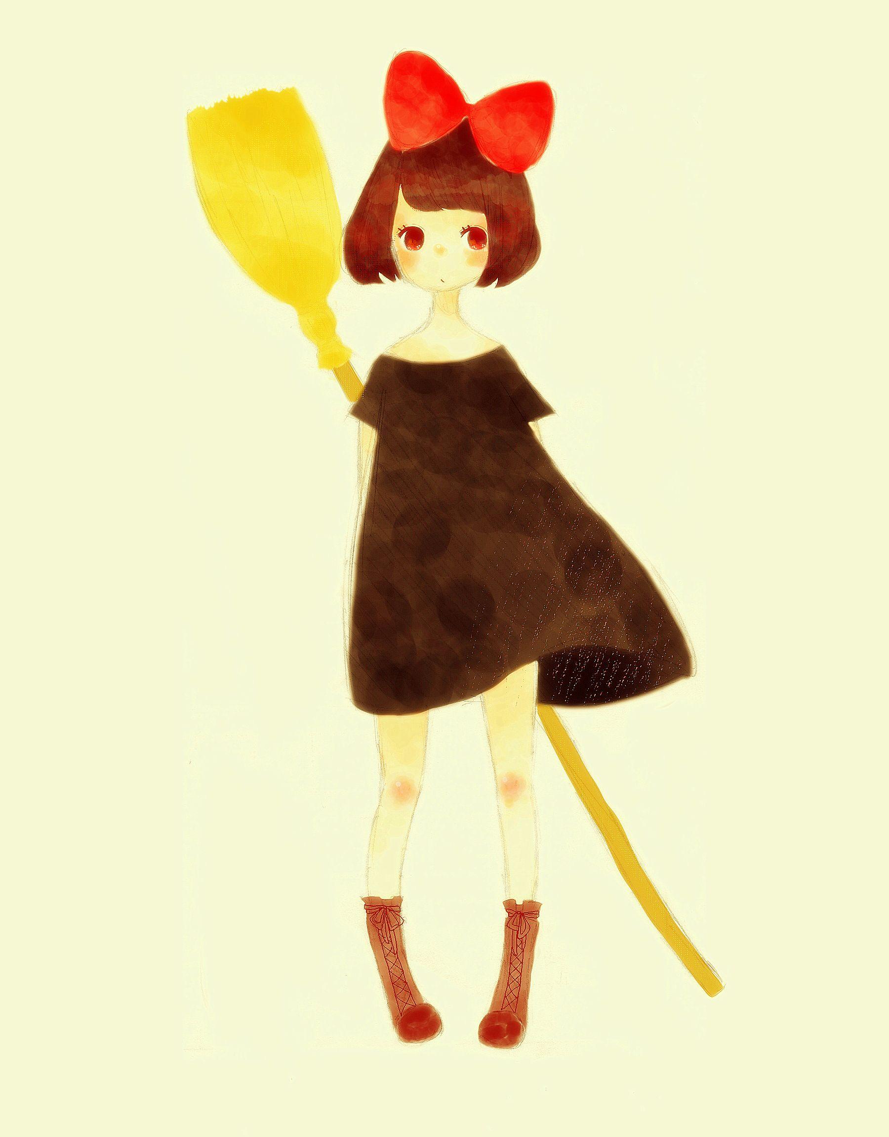 Kiki (Majo no Takkyuubin)/#722273 - Zerochan | Kiki's Delivery ...
