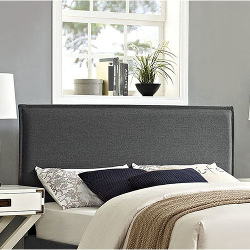 Found it at AllModern - Camille Upholstered Panel Headboard ...