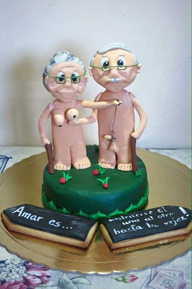 Old Men And Womens Party Pinterest Cake Birthday
