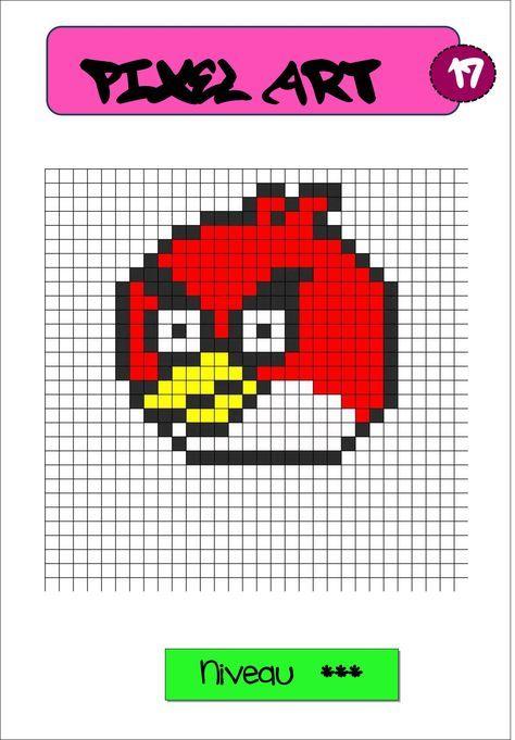 Pixel Art Autonomie Reproduction Sur Quadrillage Padrões