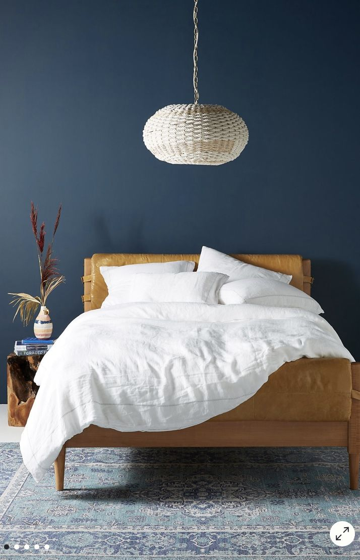 Stitched Linen Duvet Cover in 2020 Bed linens luxury