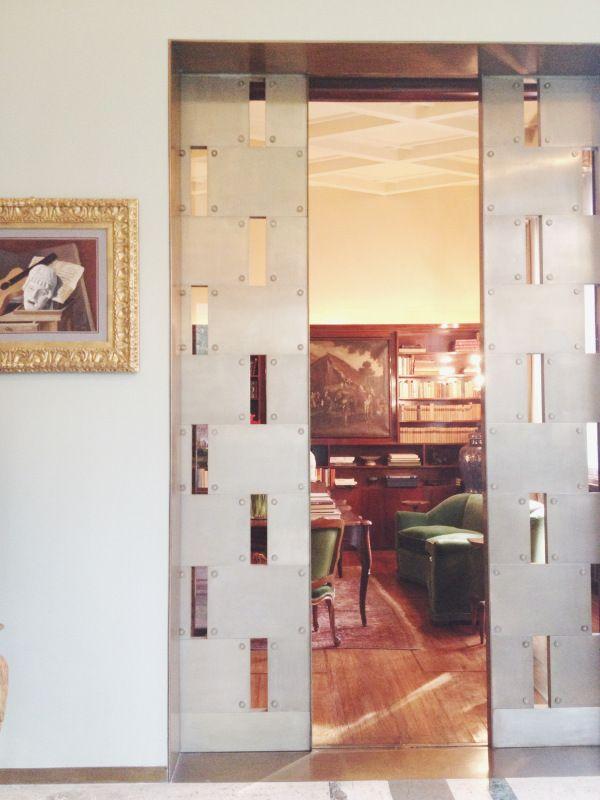Villa Necchi Campiglio, Milan by Piero Portaluppi, where I Am Love with Tilda Swinton was filmed