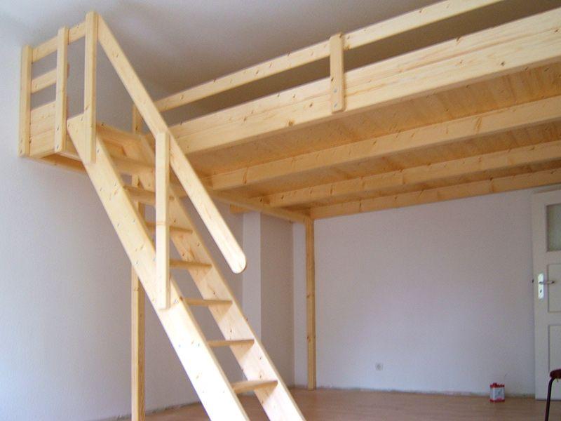 bild 17 hochbett hochetage mit treppe bett hochbett bett und treppe. Black Bedroom Furniture Sets. Home Design Ideas