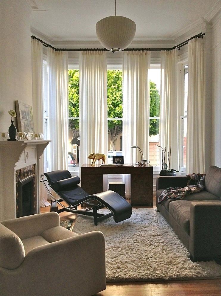 Wohnzimmer Fenster Ideen Gardinen Modern Vorhange Sonnenschutz