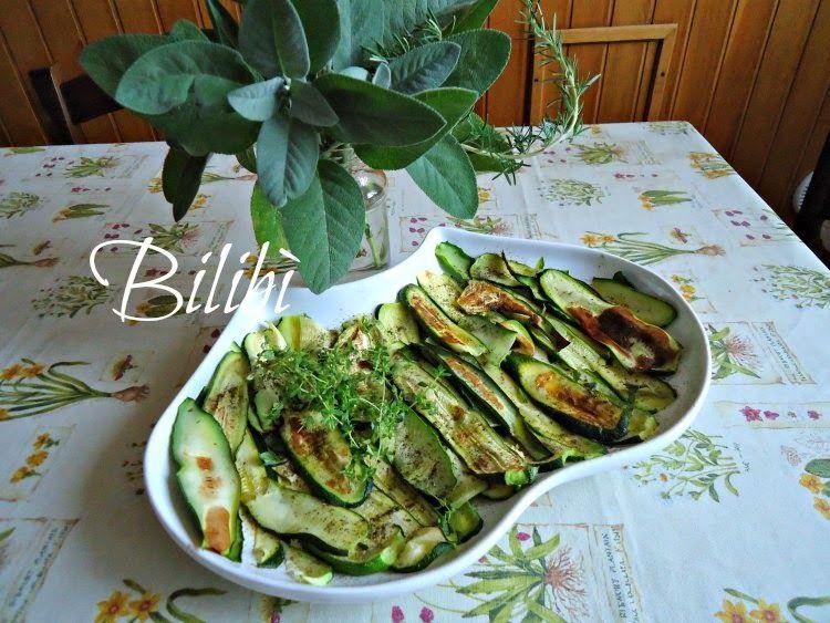 In cucina con Bilibì: Zucchine profumate al timo | Italian Crafty ...