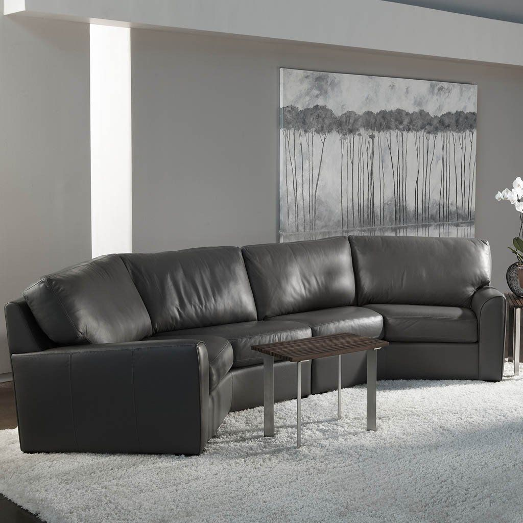 Kaden Sofa By American Leather Comfortable Transitional Style