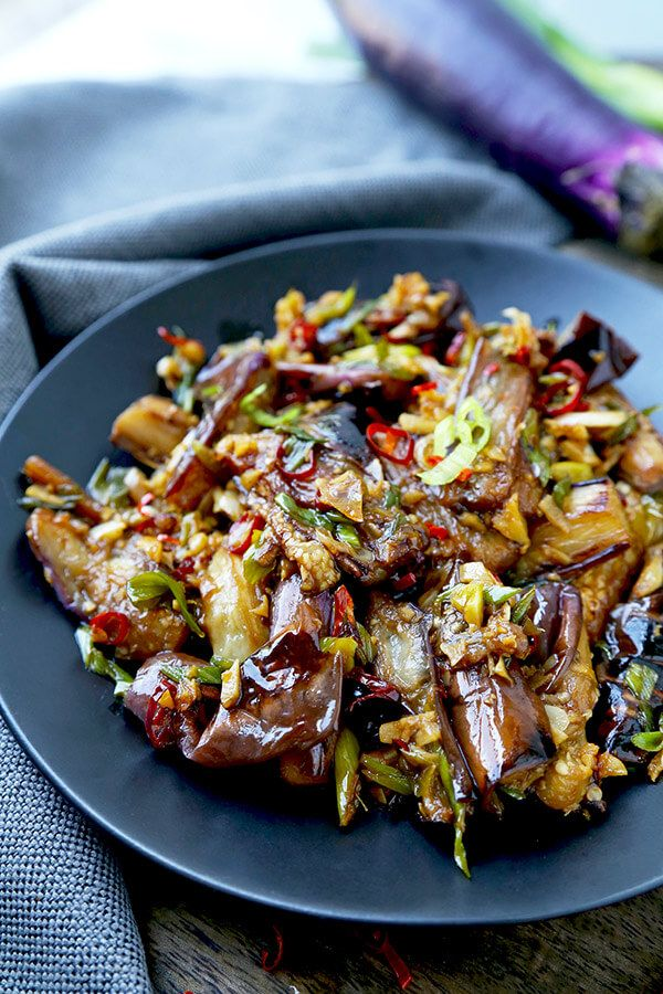Eggplant with garlic sauce recipe vegan eggplant recipes chinese eggplant with garlic sauce this is a quick and easy dish thats sweet forumfinder Choice Image