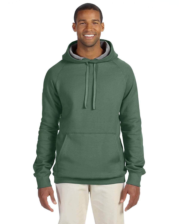f45f33147 Hanes Men's Pullover Nano Premium Lightweight Fleece Hooded Sweatshirt