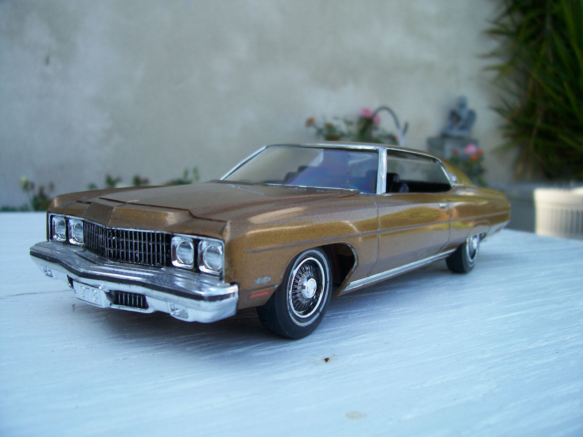 1973 Chevy Caprice 1/25 scale model car Maintenance/restoration of ...