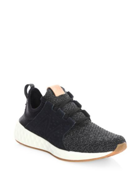 Tênis · New Balance - Cruz Perforated Knitted Sneakers 52436735d2692
