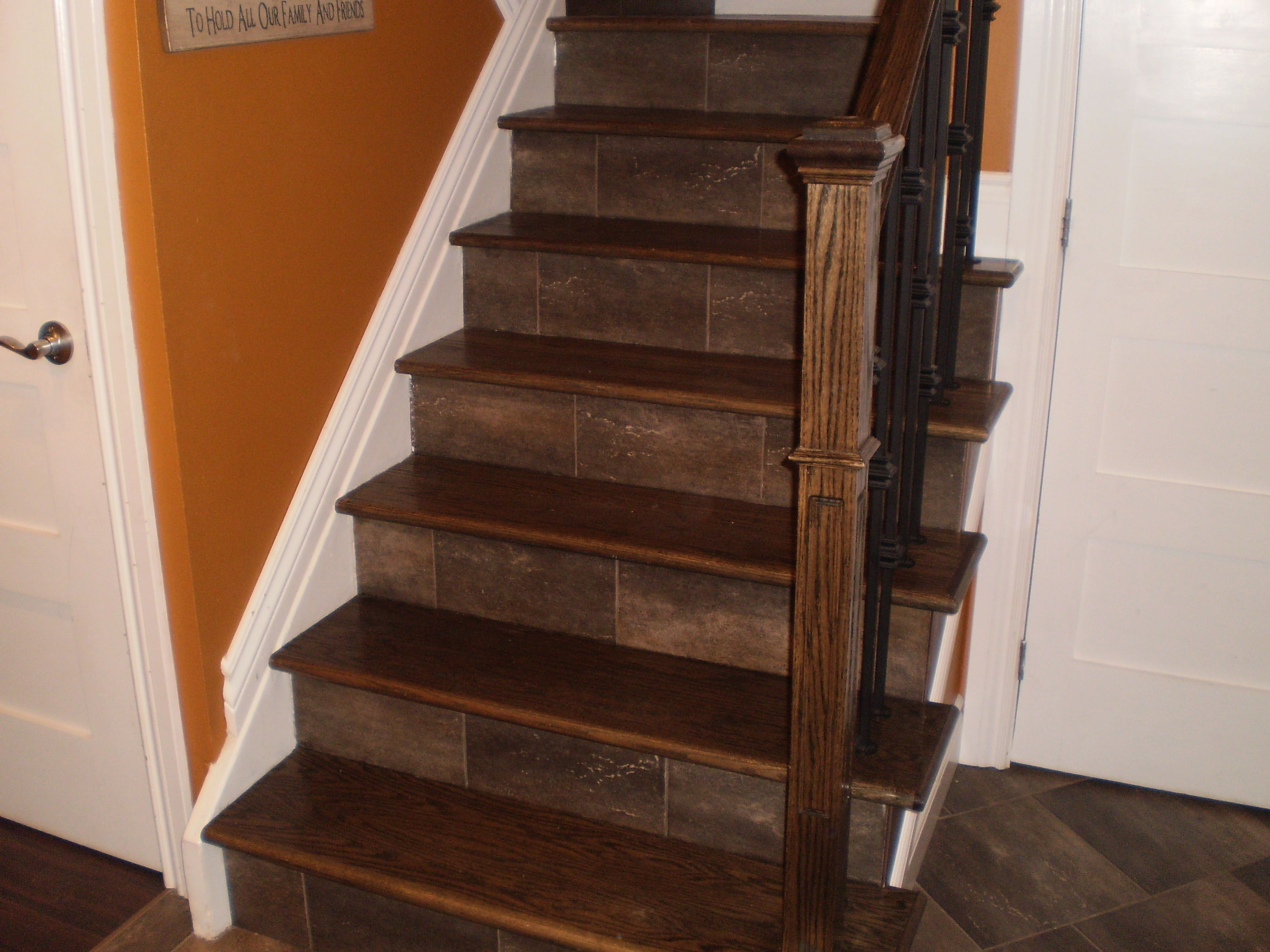 Best Way To Finish Stair Wall Hardwood Stairs Wood Stair 400 x 300