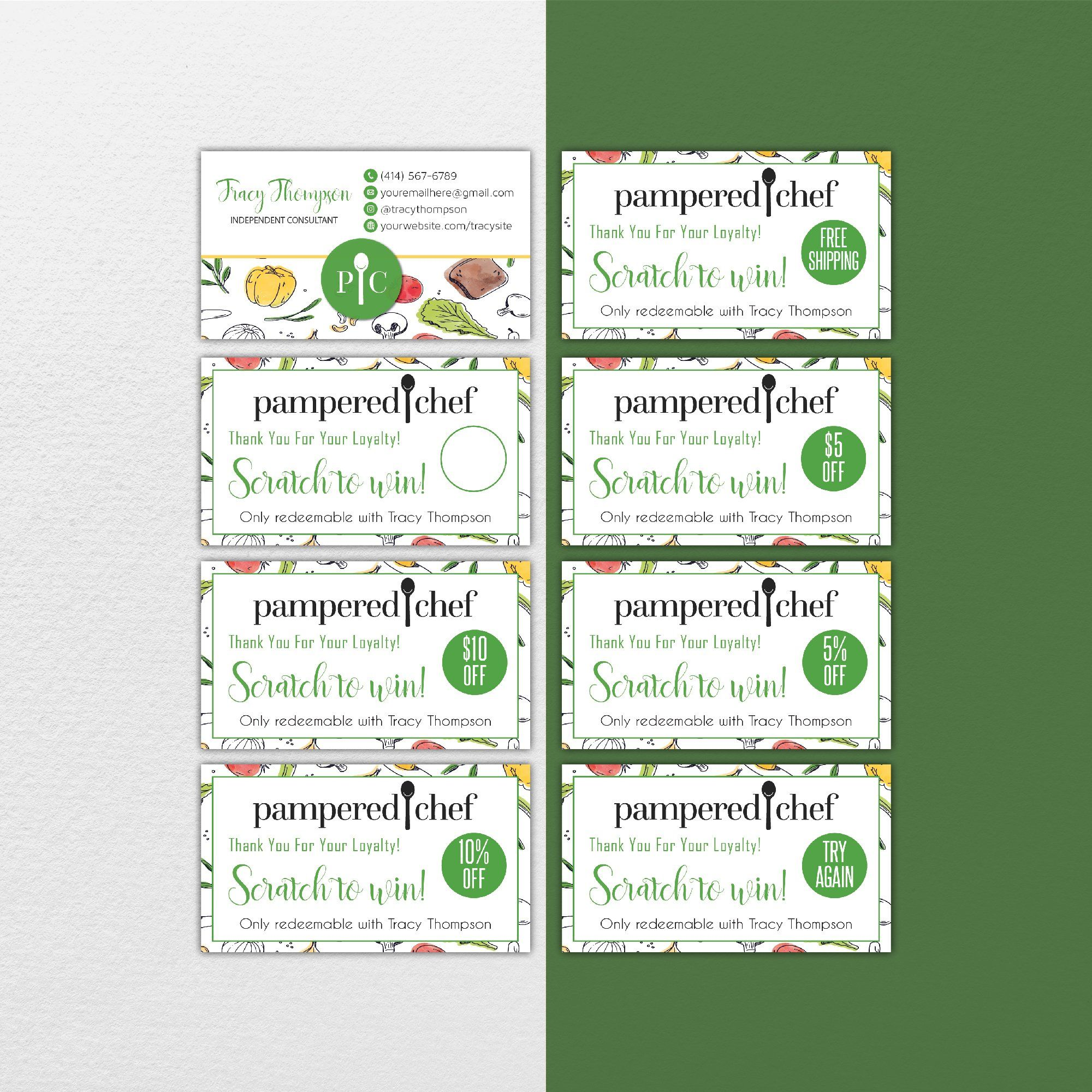 Pin On Pampered Chef Cards Pampered chef gift certificate template
