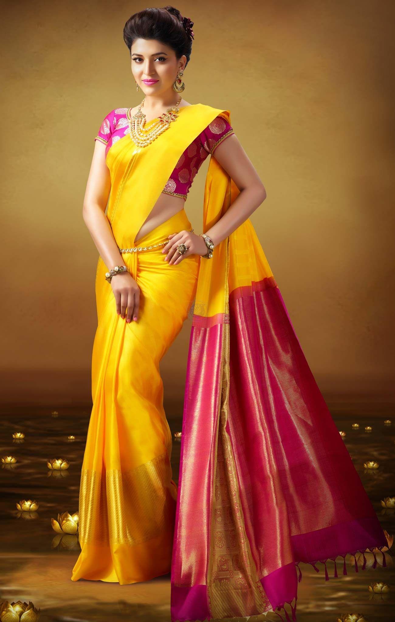 2b6218807b Vivaha Branded Wedding Silk Saree VBBS1011   Outfit   Wedding silk ...