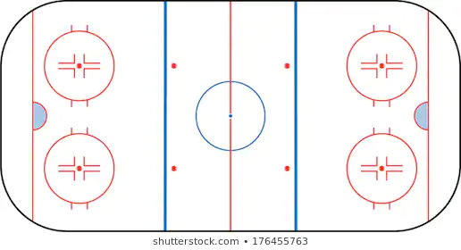 Hockey Rink Images Stock Photos Vectors Shutterstock Hockey Rink Hockey Hockey Drills