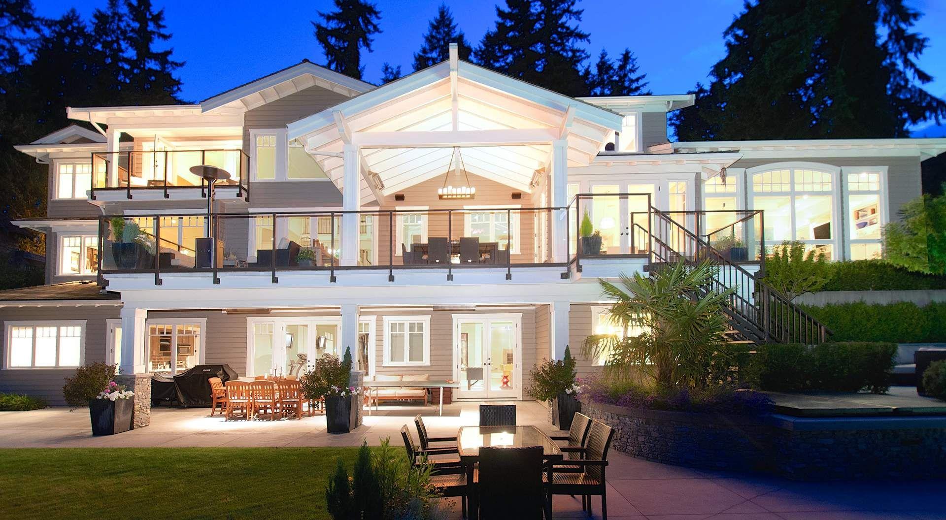 Custom Waterfront Home